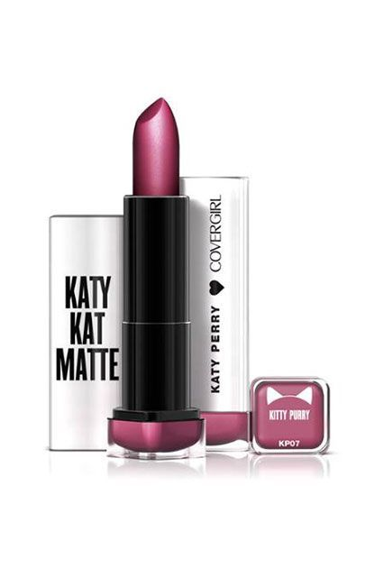 CoverGirl Katy Kat Matte Lipstick in Kitty Purry $6.94, available for pre-order at Walmart.