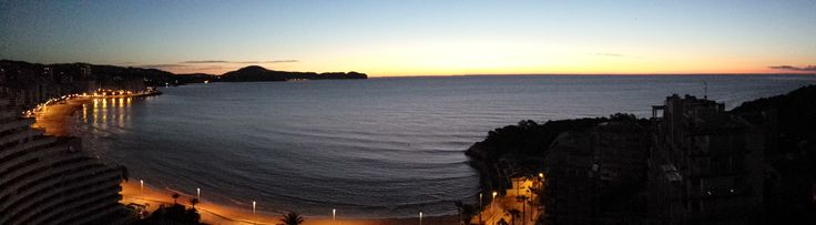 Morning glory at dawn. It is pure magic for those being awake early!  www.wonderful-calpe.webs.com