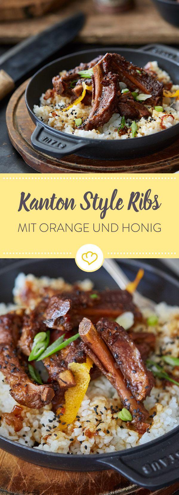 Hast du Lust auf richtig aromatische Rippchen? Wie wärs mal mit einem klassischen kanonesischen Rezept? Ribs in einem asiatischen Sud, der süchtig macht.