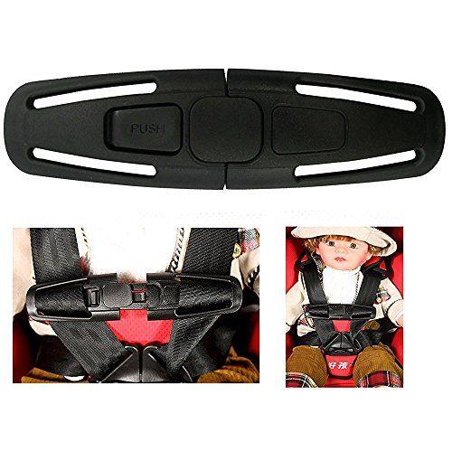 La Derkia Car Baby Safety Seat Strap Belt Harness Chest Child Clip Buckle Latch Nylon Lock Tite Harness Clip