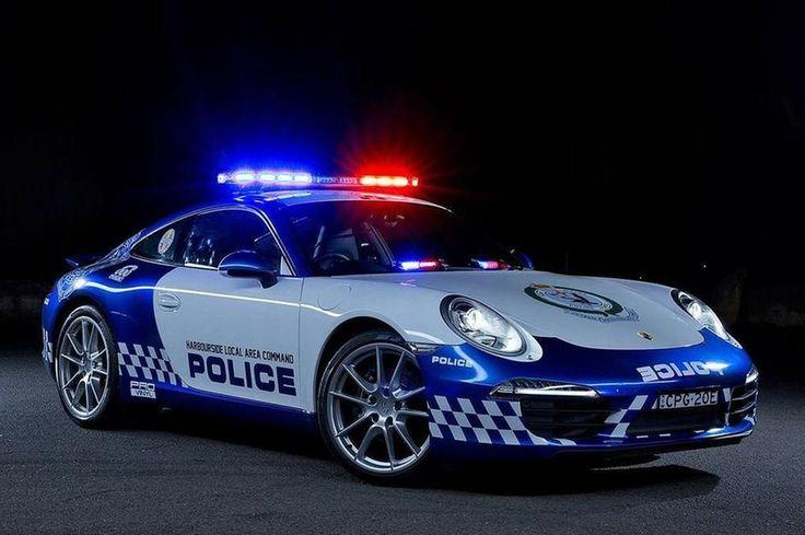 Porsche 911 NSW Police Force, Australia