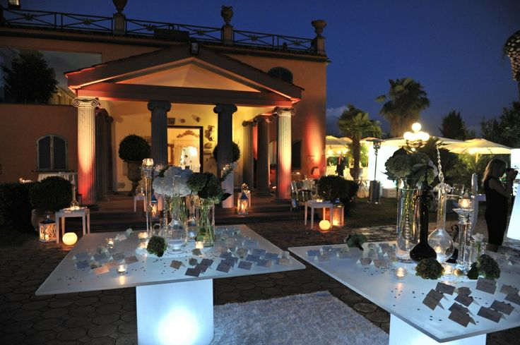 Villa Dino Rome - Destination Wedding - www.wanderlust-weddings.com