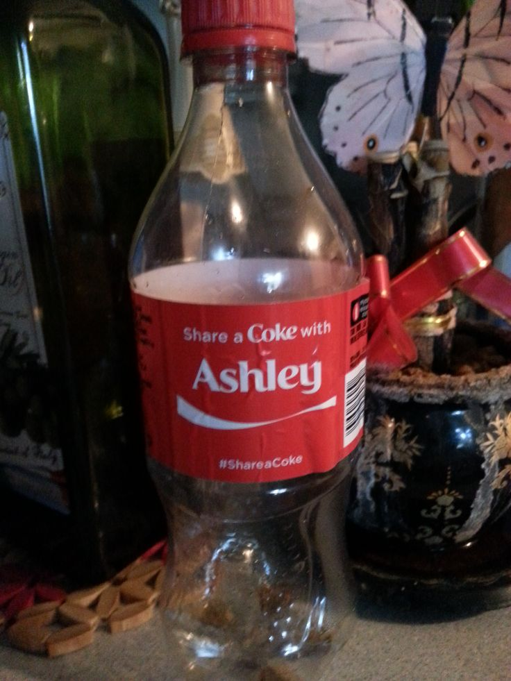 My Personlized Coke...from my BFF...thank you love-wings <3