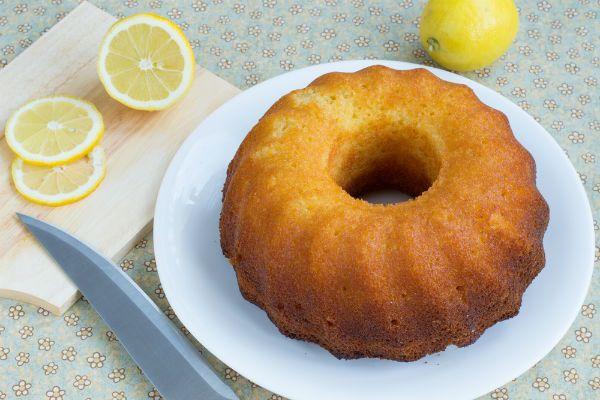Κέικ λαδιού με λεμόνι