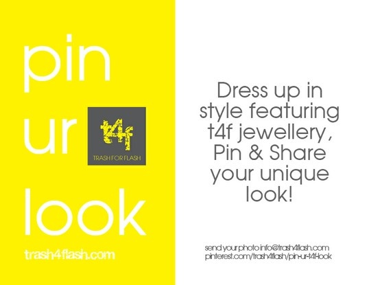 Dress up in style featuring t4f jewellery, Pin & Share your unique look!
