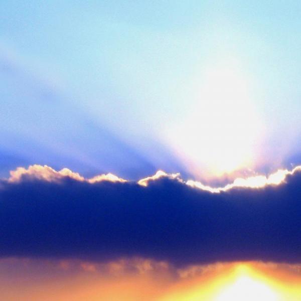 Cómo pintar un cielo de tormenta invernal - 5 pasos  Paso 1 - unComo