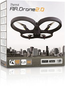 AR.Drone 2.0. Parrot new wi-fi quadricopter- I want it!