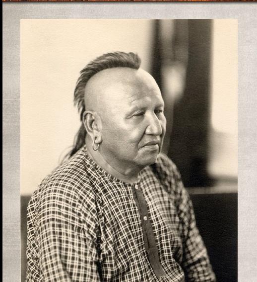 Wash Bigheart---Osage Indian