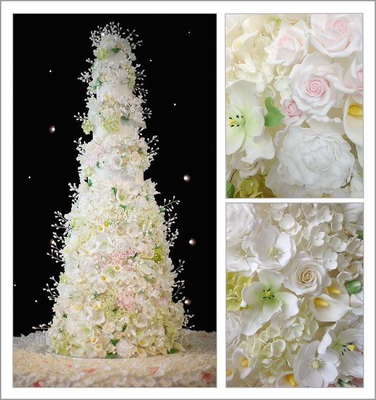 Fabulous Large Wedding Cake at The Grosvenor House Hotel! - Best of British Weddings | The very best British wedding suppliers in one place
