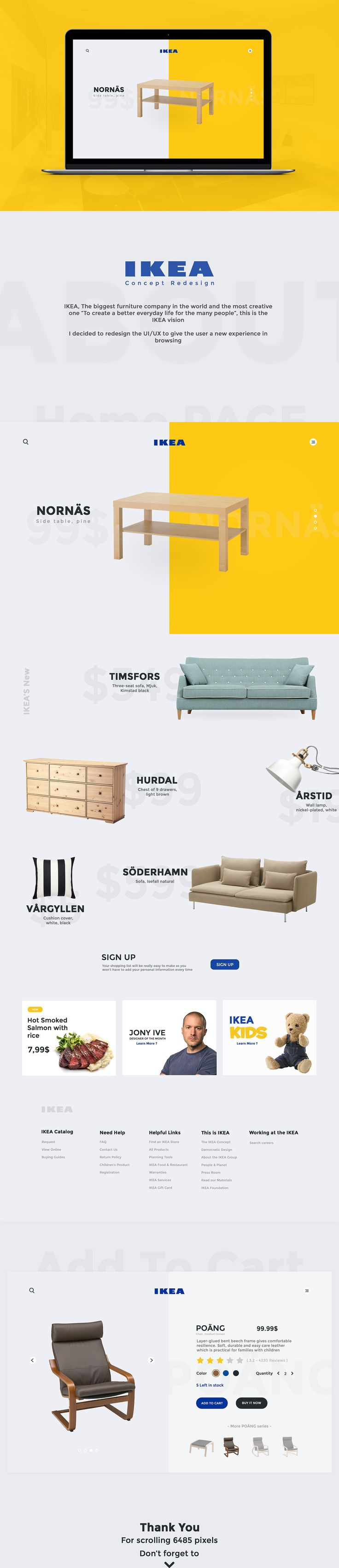 IKEA Concept Redesign on Behance