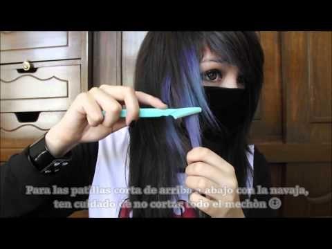 How to cut scene/emo hair ✧Nyan .JPG✧ - YouTube