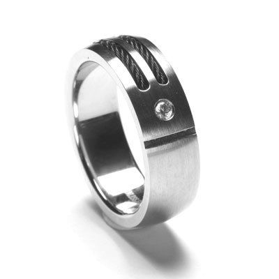 Stainless Steel Ring Size 12, $25.95