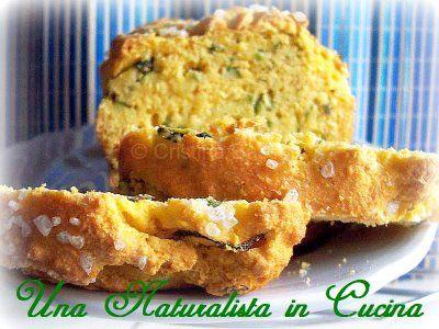 Una Naturalista in Cucina: Cake di farina di mais con zucchine