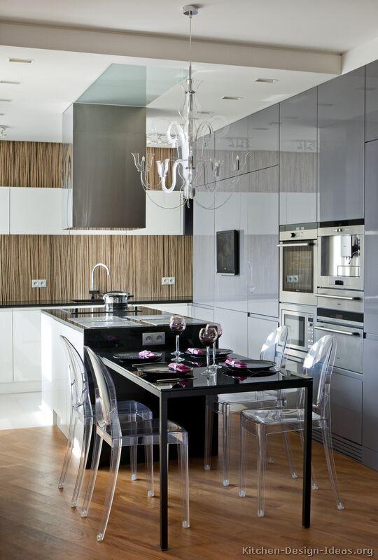 Kitchen Idea Of The Day European Kitchen Cabinet In Gray