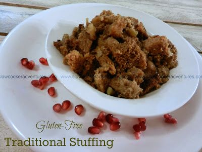 GF Traditional StuffingCooker Recipe, Free Thanksgiving, Business Mom, Crock Pots, Free Recipe, Free Baking, Gluten Dairy Free, Cooker Adventure, Celiac Recipe