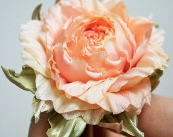 Silk Flower rose corsage flower silk flower brooch Birthday