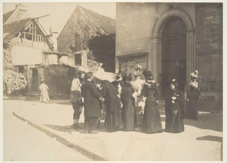 edgar-degas-photograhie-rue la Queue en Brie