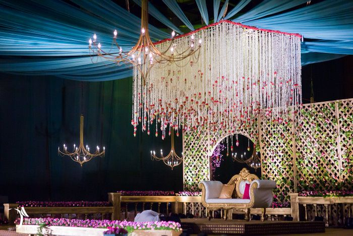 Glam Telugu Wedding With Shiny New Decor! | WedMeGood