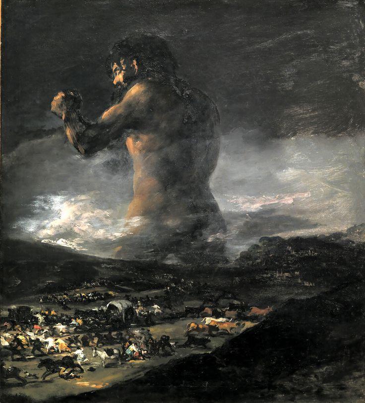 El coloso - Goya 1812
