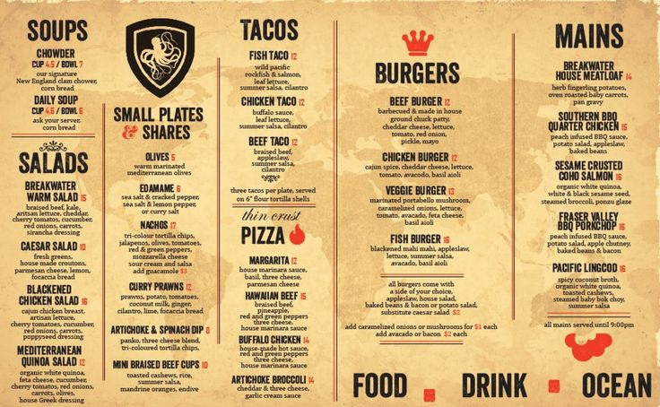 23 best TNTT menu images on Pinterest Food menu design, Pizza