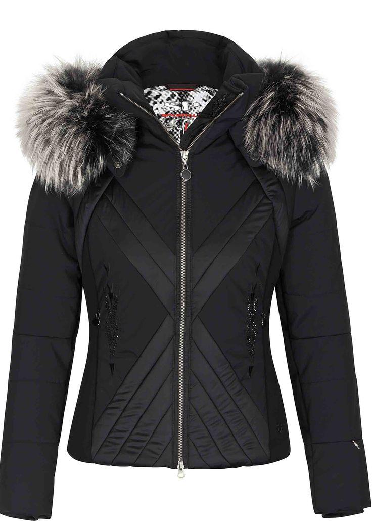 Ladies stylish ski jackets video