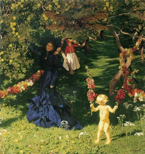 The Strange Garden, Jozef Mehoffer