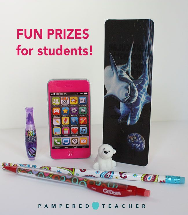 How to motivate students with prizes, incentives and praise. Get free shipping from Geddes school supply store with a coupon code on the Pampered Teacher blog.