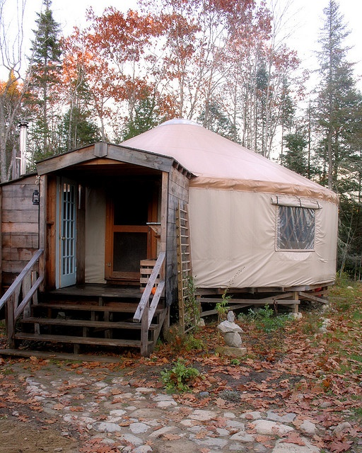 1000 ideas about yurt home on pinterest yurts yurt for Yurt bathroom designs