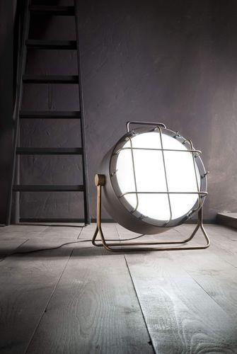 Lampada da terra / moderna / indoor / in ferro CANTIERE ZAVA