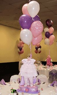 Something besides the traditional diaper cake centerpiece that is still useable after baby comes