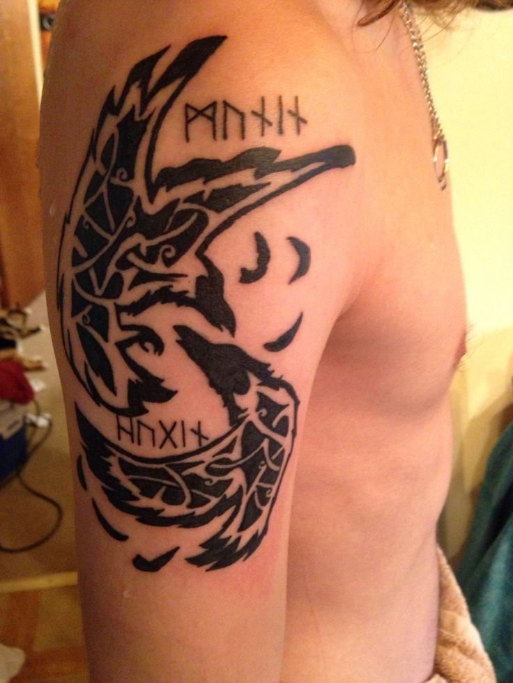 Raven Viking Tattoo: 38 Best Images About Tattoos On Pinterest