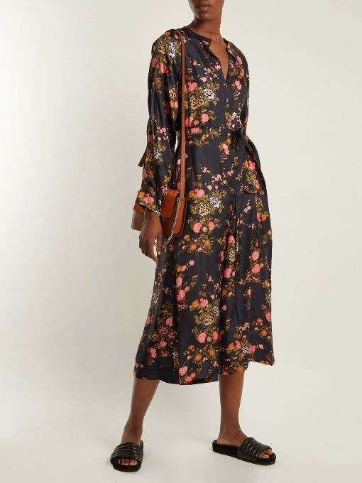 Isabel Marant Olympia floral-print silk dress