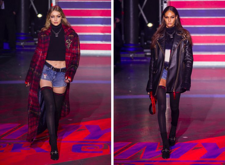 LFW: Tommy Hilfiger and Gigi's Rock and Roll Circus!