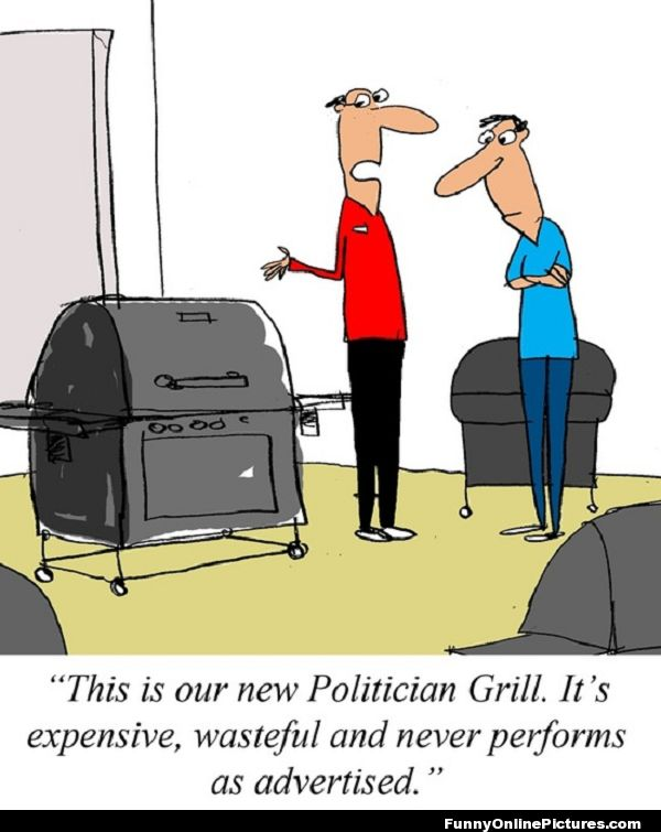 Funny Political Cartoon
