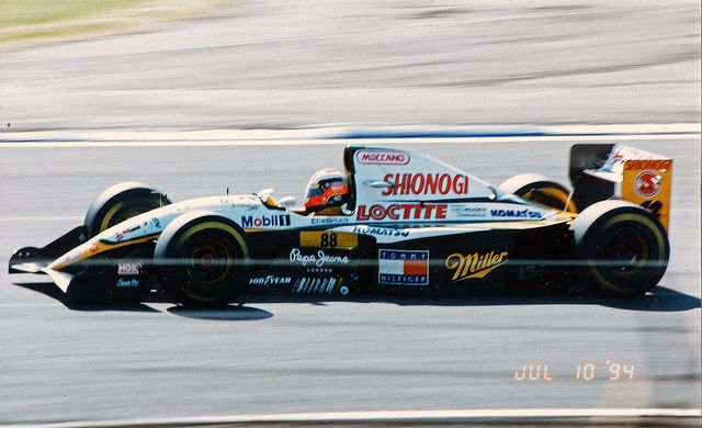 johnny herbert, lotus 109 mugen honda, 1994, british gp silverstone.