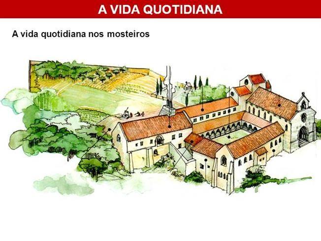 A vida quotidiana nos mosteiros by f1553 via authorSTREAM