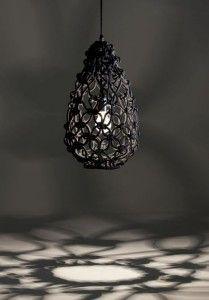 hæklet lamp