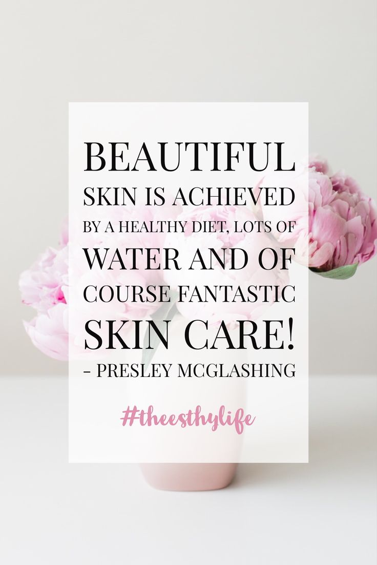 Beautiful skin comes from a healthy diet and good skin care! Check out this post --> http://theesthylife.com/2017/06/23/eating-healthy-beautiful-skin/