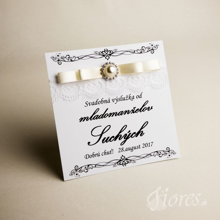 """Svadobné etikety """"Pohladenie luxusu"""". Nech je Vaša svadba jedinečná v každom detaile! Pripravili sme pre Vás originálne handmade etikety, ktorými rozhodne očaríte Vašich hostí a známych."""