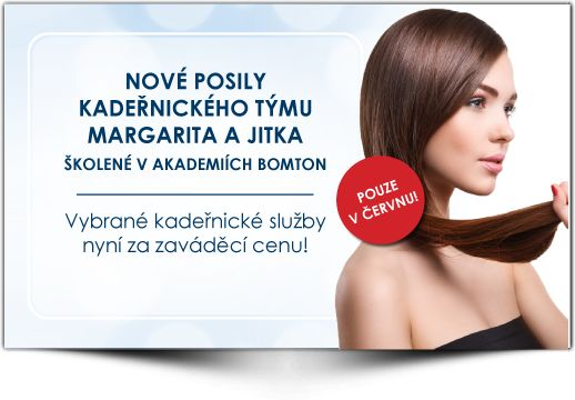 Nové posily kadeřnického týmu - Margarita + Jitka - Vlasový Institut