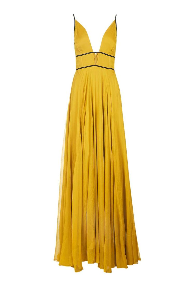 Dress 4 yellow dallas 80