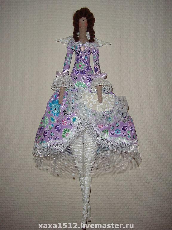 Платье для тильда куклы своими руками