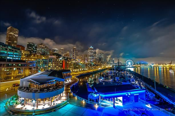 Seattle's waterfront.... by rebarsback on NWNC