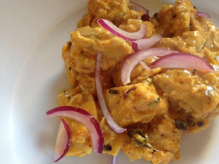 Rick Stein's chicken pasanda Replace dairy & chicken for vegan