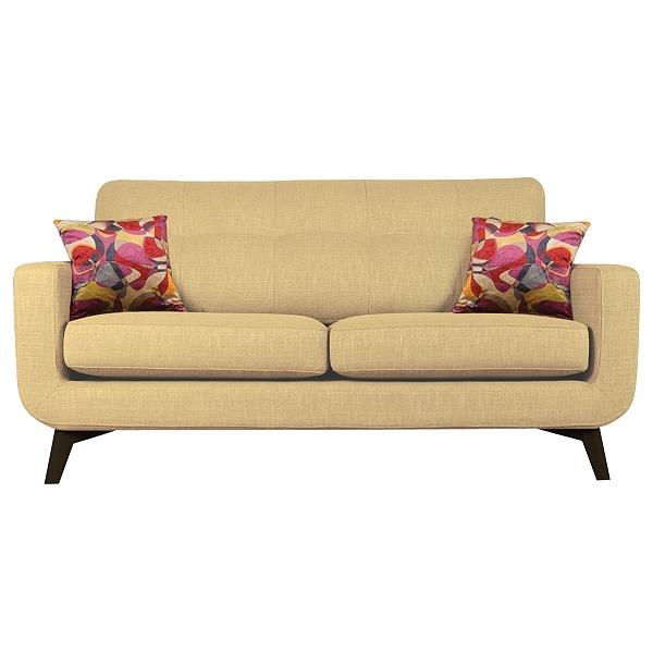 Buy John Lewis Barbican Medium Sofa, Cossette Marble / Dark Leg online at JohnLewis.com - John Lewis