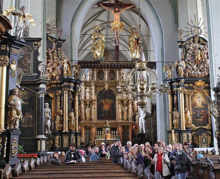 Ołtarz w kościele św. Mikołaja | #gdansk #sightseeing