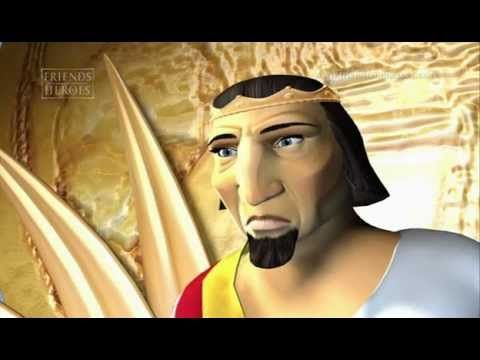 Daniel and The Lions Den - Friends and Heroes - English Animated #BibleStory - YouTube