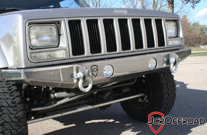 JcrOffroad, Inc. Jeep Cherokee XJ Front Bumper - Deluxe