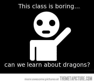 What goes through my mind during class…