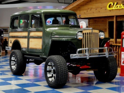 93 best images about Willys Wagons on Pinterest | Jeep willys ...